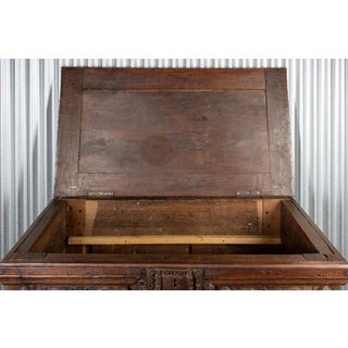 18th Century French Gothic Wood Trunk Preview