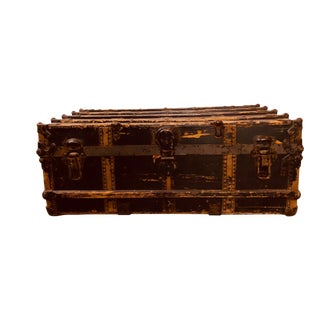 Antique Chest With Decorative Details For Sale