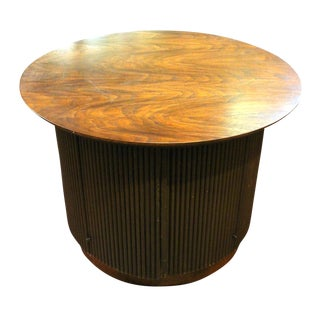Circular Side Cabinet Table