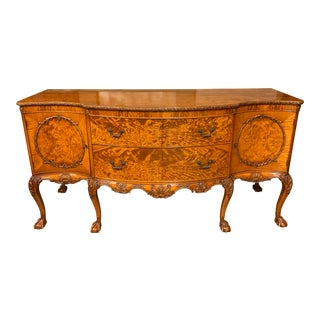 Early 20th-Century Batesville Burled Sideboard For Sale