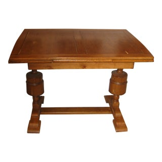 1930s Boho Chic Wooden Pub Table