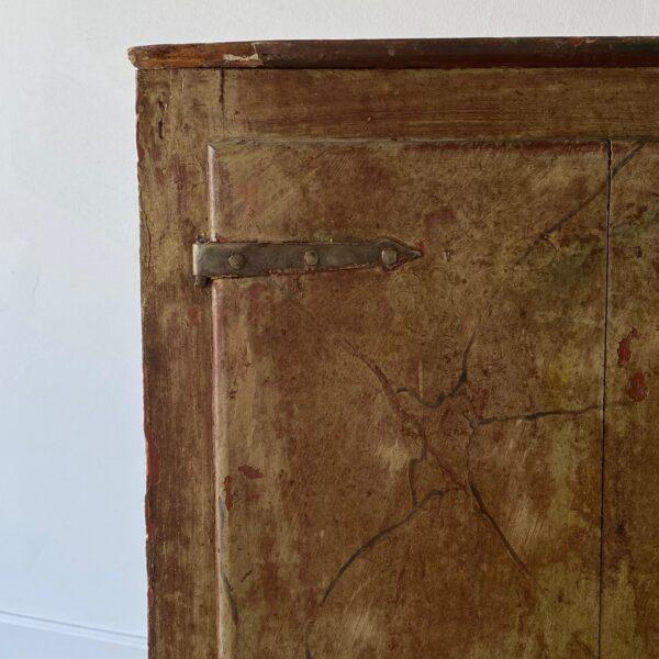 19th Century 19th Century Painted Corner Cabinet For Sale - Image 5 of 10