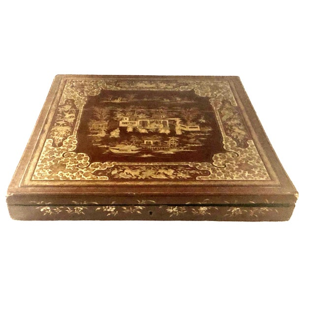 Early 19th Century Chinese Export Box For Sale - Image 4 of 8