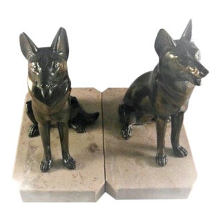 Art Deco Dog Figurines - a Pair For Sale