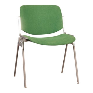 Stackable Green Chair by Giancarlo Piretti for Castelli, 1955 For Sale