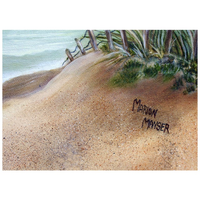 Dune Path to the Sea Painting by Marion Manser - Image 4 of 4