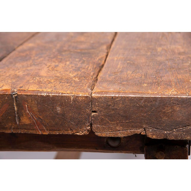 Early 19th Century Rustic Table For Sale - Image 9 of 13