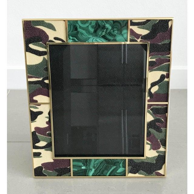 Camoflauge Shagreen Photo Frames For Sale - Image 10 of 10