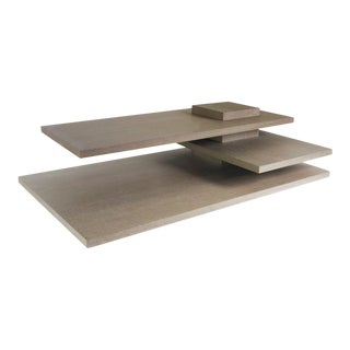 Planar Coffee Table, Grey For Sale