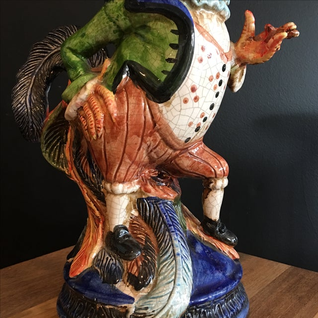Victorian French Dapper Rooster Statue - Image 4 of 7