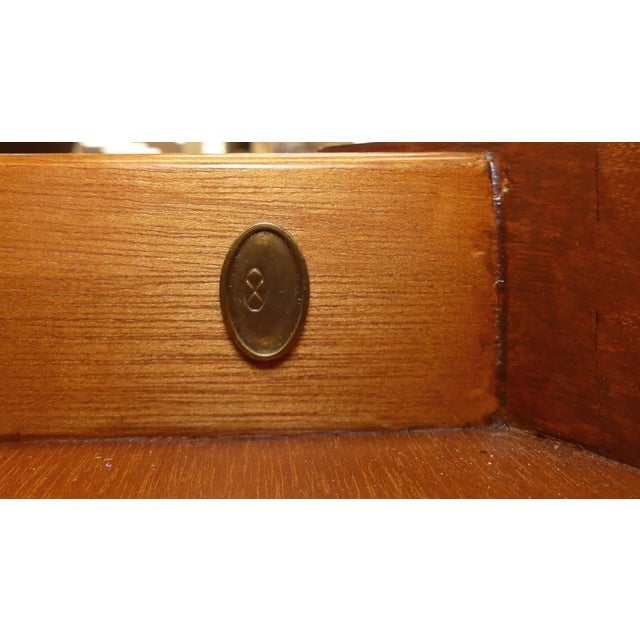 Brown Barbara Barry Skirted Accent or End Table For Sale - Image 8 of 9