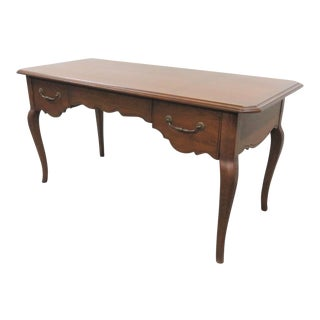 French Country Fruitwood Writing Desk