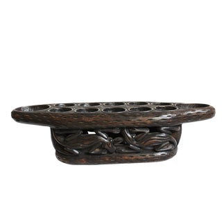 African Bamileke Mancala Game Board For Sale