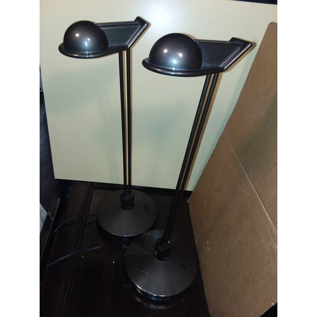 Moving Sale Price $375 Metalarte Design Award Winning Anad E Table Lamps - a Pair For Sale - Image 9 of 9