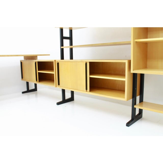 Very Rare Office With a Shelf and a Desk by Alfred Altherr, Switzerland, 1955 For Sale - Image 9 of 10