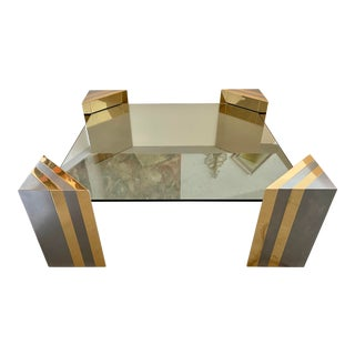 Large Pierre Cardin Style Coffee Table From 70's For Sale