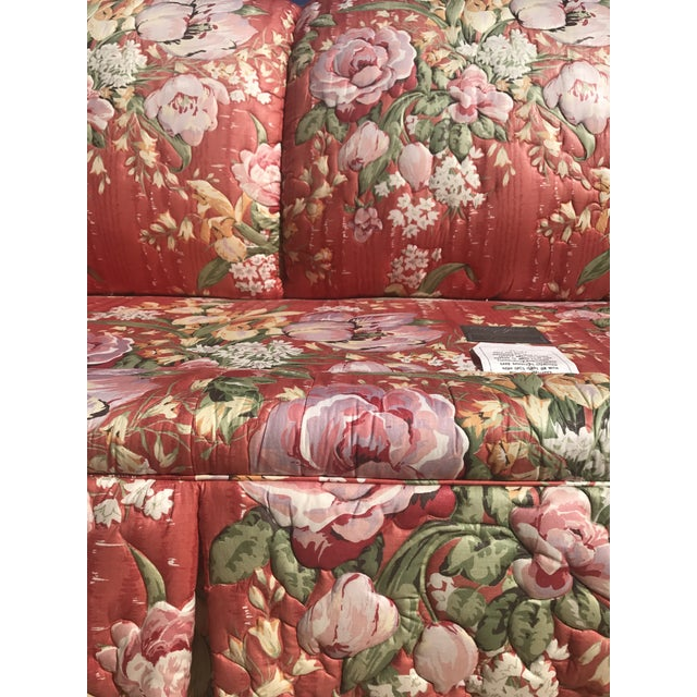 Vintage Floral Morris James Sofas - A Pair - Image 10 of 11