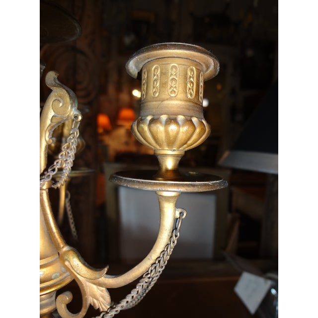 Late 18th Century Pair of Louis XVI Period Candelabra For Sale - Image 5 of 9
