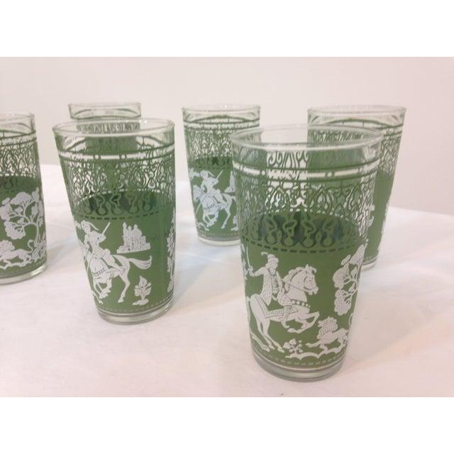 Jasperware Style Highball Glasses - Set of 6 - Image 4 of 4
