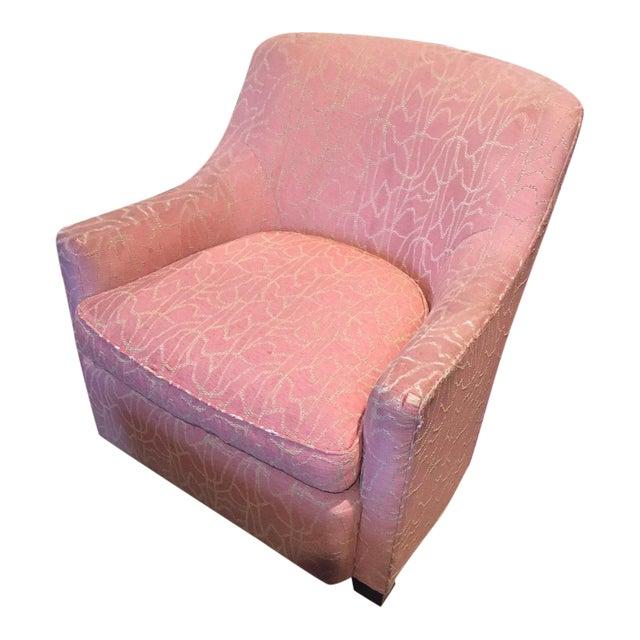 Baker Upholstered Chair For Sale