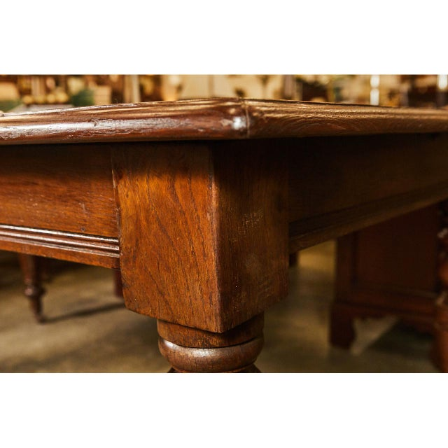 Large English Writing Table circa 1870's - Image 7 of 9