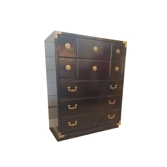Huntley by Thomasville 5-Drawer Campaign Dresser - Image 2 of 9