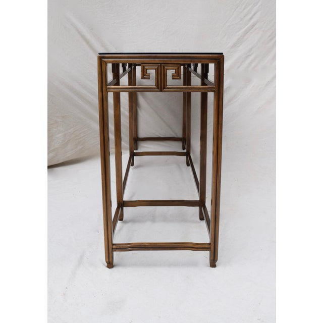 """Baker Burlwood Console Table, """"Far East"""" Collection"""" For Sale - Image 10 of 13"""