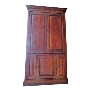 20th Century Hooker Cherry Armoire For Sale