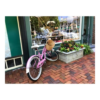 Pink Bicycle Photograph by Josh Moulton For Sale