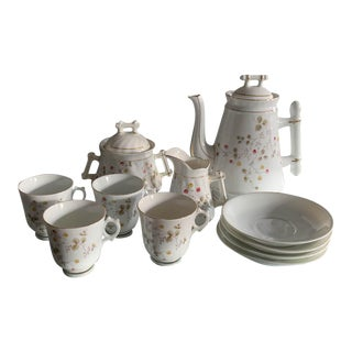 Early Porcelain Tea Set - Marked 1793 For Sale