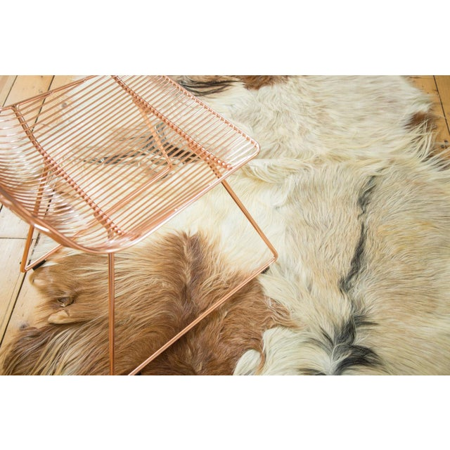 "Turkish Angora Skin Rug - 4'3"" x 5'5"" - Image 2 of 4"