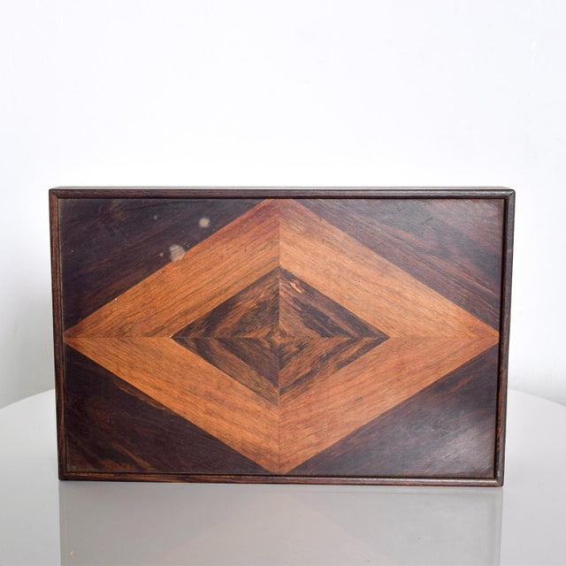 Mid-Century Modern Don Shoemaker Medium Size Box Mid Century Mexican Modernist For Sale - Image 3 of 7