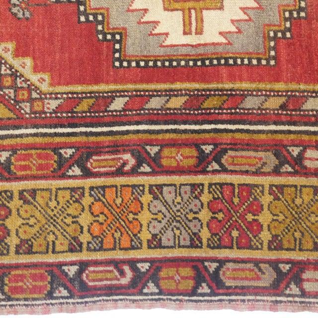 """Anatolian Oushak Rug - 6'7"""" x 3'9"""" For Sale - Image 5 of 5"""