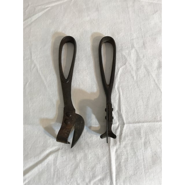 Metal 1890's Steel Can Openers - A Pair For Sale - Image 7 of 7