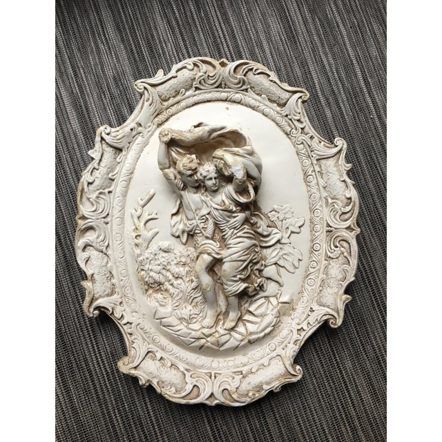 Rococo Chalkware Wall Hanging - Image 2 of 5