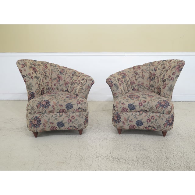 English Made Fan Back Fireside Chairs - a Pair For Sale - Image 13 of 13