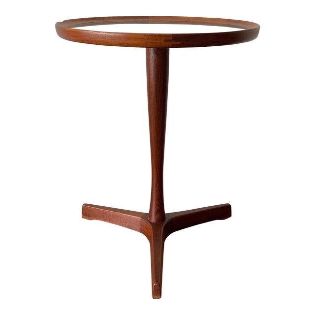 1960s Danish Modern Hans Andersen Teak Table For Sale