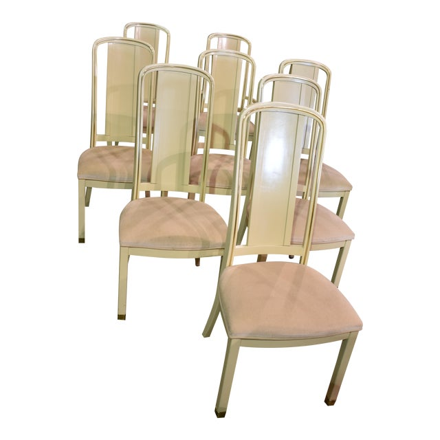 Vintage Milano By Stanley Cream Dining Chairs Set Of 8 Image 1 11