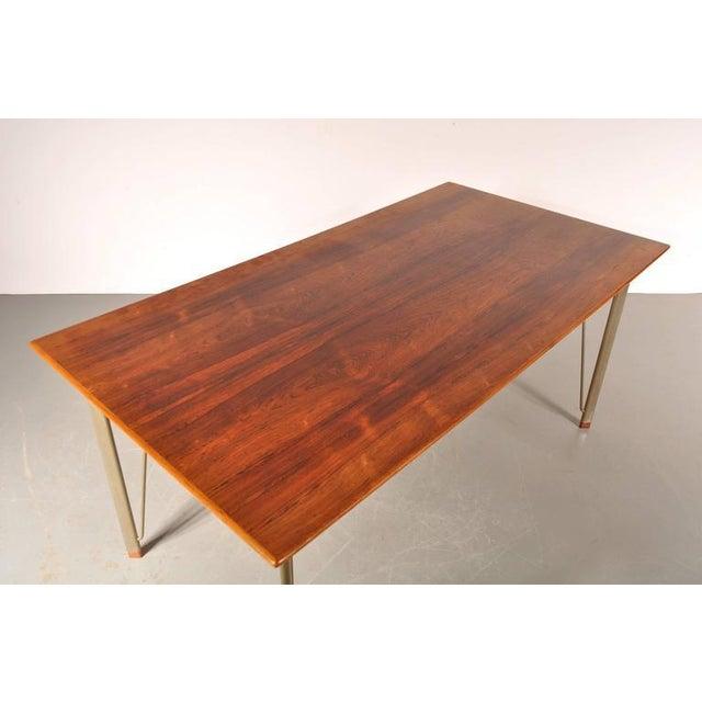 Dining Table by Arne Jacobsen for Fritz Hansen, Denmark, circa 1955 - Image 5 of 10