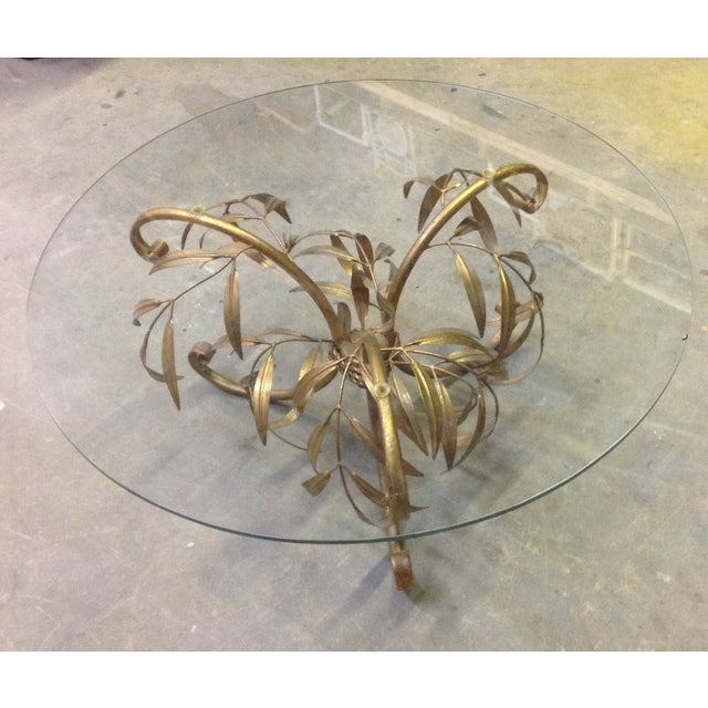 Hollywood Regency Gilt Coffee Table - Image 2 of 7