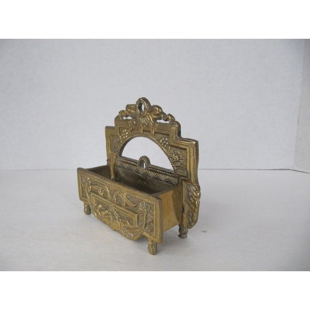 Vintage brass business card holder chairish vintage brass business card holder for sale image 4 of 5 colourmoves