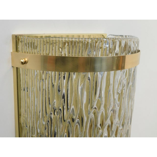 Fabio Ltd Cascata Sconces / Flush Mounts by Fabio Ltd (10 Available) For Sale - Image 4 of 7