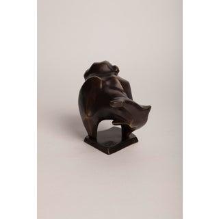 Contemporary Bulldog Bronze Sculpture Preview