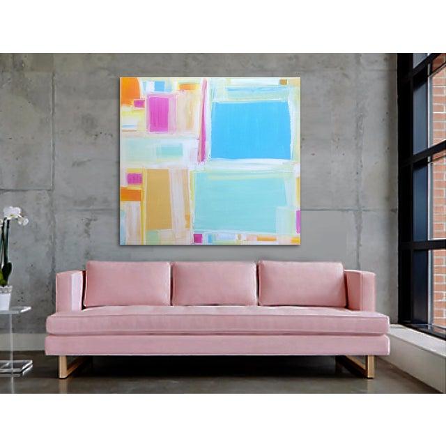 'MADRAS' Original Abstract Painting by Linnea Heide - Image 3 of 7