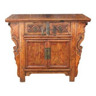 Late 19th Century Qing Dynasty Altar Cabinet For Sale