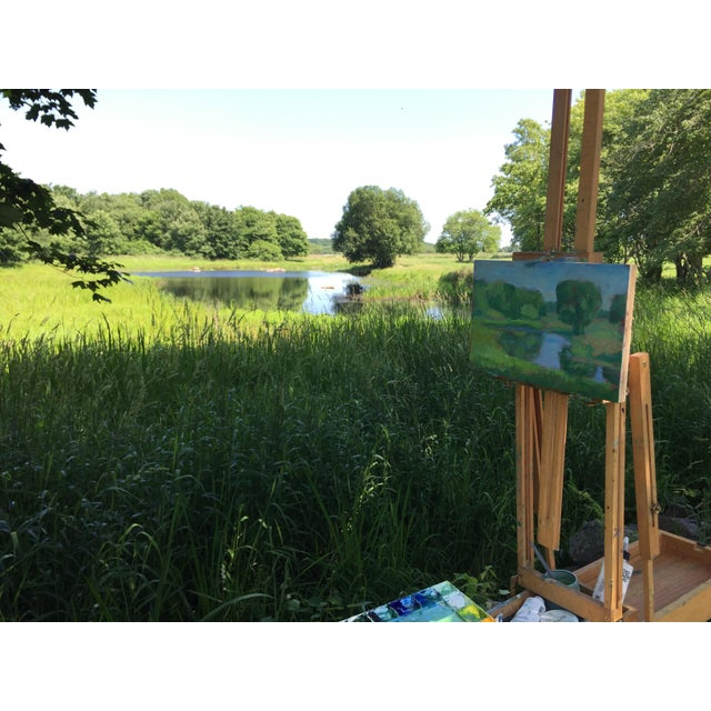 """Stephen Remick, """"Pastoral"""", Contemporary Plein Air Painting For Sale - Image 9 of 9"""