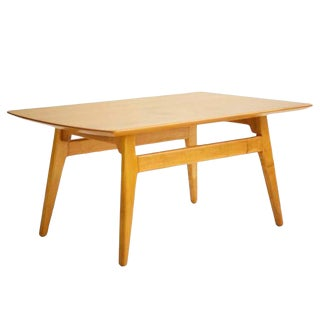 1950s Mid-Century Modern Jens Risom Coffee Table For Sale