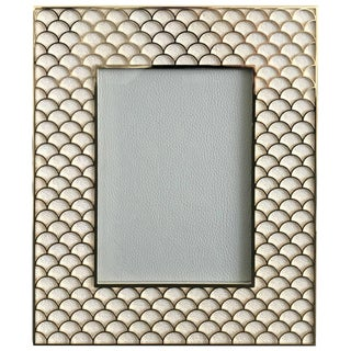 Shagreen Gold-Plated Photo Frame by Fabio Ltd For Sale
