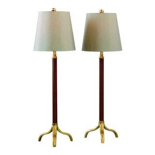 Portobella Buffet Lamps - a Pair For Sale