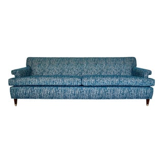 Mid-Century Modern Reupholstered Sofa For Sale